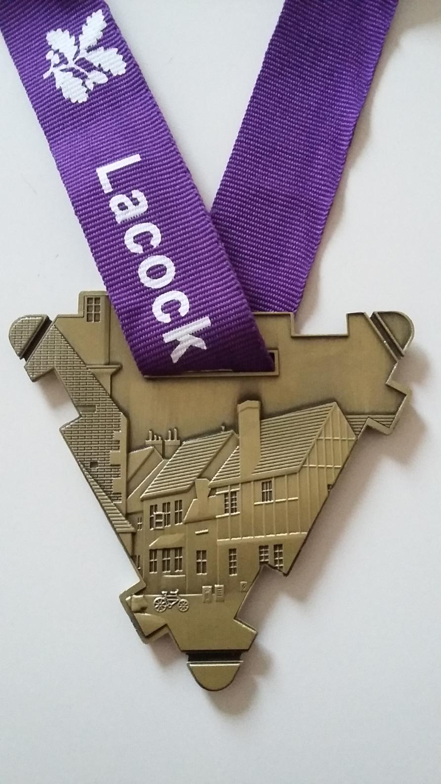 Lacock Road Race Medal