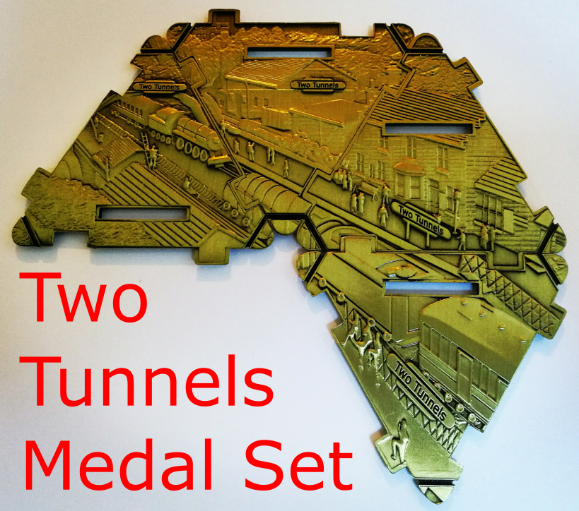 Two Tunnels Run Medal