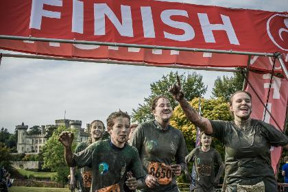 Eastnor Castle Mud Bath Mud Run