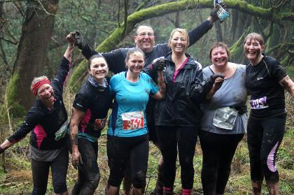 Mud Bath race run Lansdown Pipley Wood