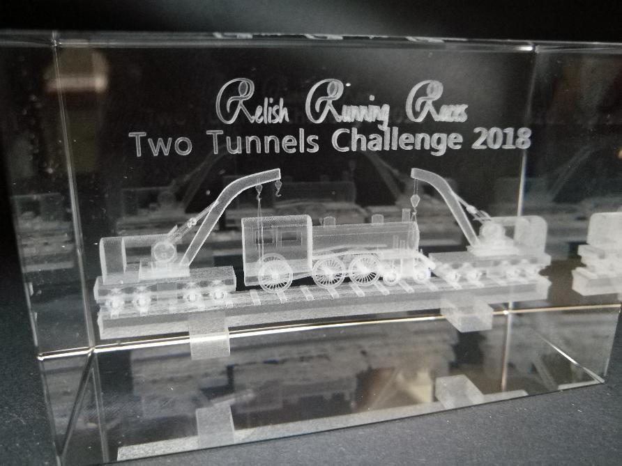 Two Tunnels Running Challenge Trophy