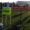 Race Clock hire at £100 (not blurry in real life!)