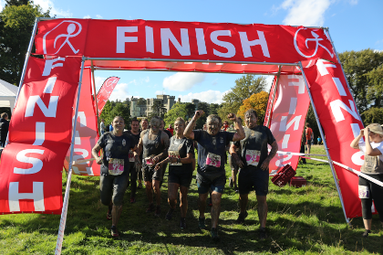 Running Group Eastnor Finish Line